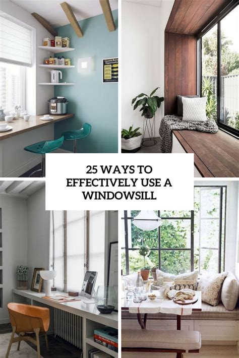 The Windowsill by 25 Cool Ways To Effectively Use A Windowsill Digsdigs