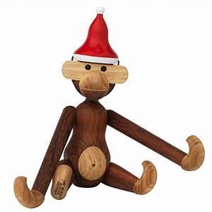 Kay Bojesen Affe : affe mit weihnachtsm tze nikolausm tze von kay bojesen ~ Watch28wear.com Haus und Dekorationen