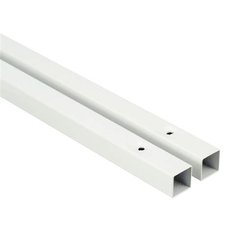 closetmaid shelf support pole closet wire shelving shelf support pole pre drilled holes