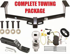 Toyota Rav4 Trailer Hitch Towing Receiver W Wiring Harness