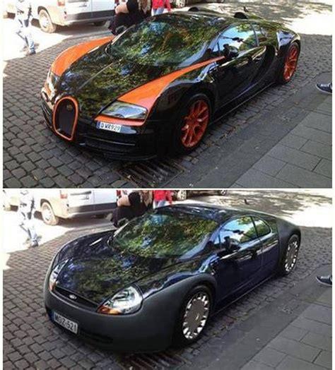 Последние твиты от bugatti (@bugatti). Bugatti Veyron met Ford Ka-styling   Autofans
