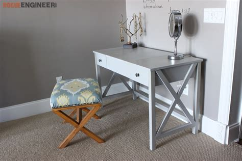 diy vanity table plans ana white flip top vanity featuring rogue engineer diy