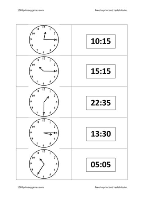 24 hour time dominoes by lewisbell teaching resources tes