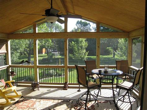 Sunrooms And Porches by Olathe Ks Porches Sunrooms And Decks