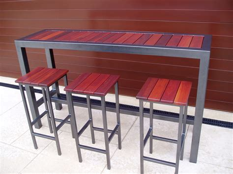 outdoor furniture bar table and stools outdoor bar top