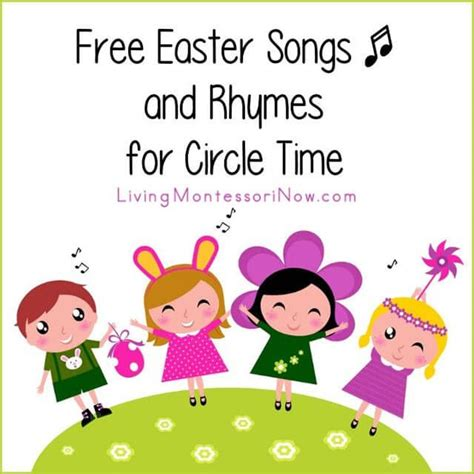 free easter songs and rhymes for circle time easter 762 | 6899a0ad16fc8ab59e32fc94a937eac1
