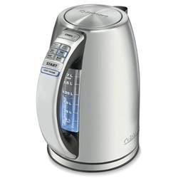 kettle temperature electric variable cuisinart cpk perfectemp tea kettles cordless looking temperatures capacity