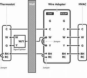 Installing The Thermostat Wire Adapter  U2013 Customer Support