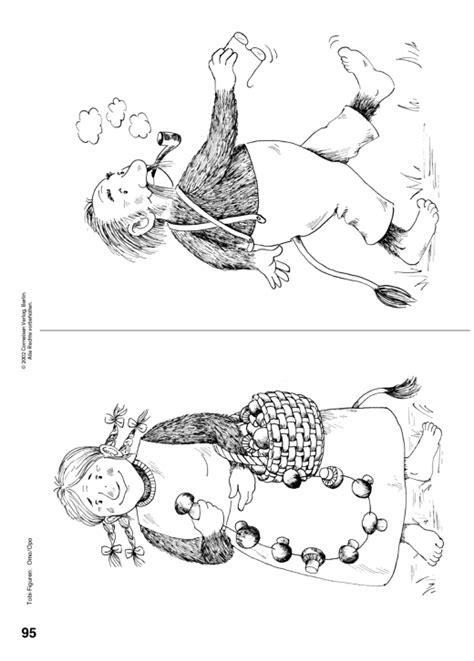 ausmalbild zur tobi familie oma und opa arbeitsblatt
