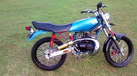 Modif Rx King Gagah by Modifikasi Rx King Biru Laut Gagah Segagah Tigor