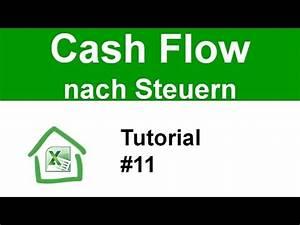 Tagesmutter Steuern Berechnen : tutorial 11 cashflow nach steuern berechnen cash flow wie gerald h rhan youtube ~ Themetempest.com Abrechnung