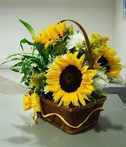 Tischdeko Mit Sonnenblumen : tischdeko mit sonnenblumen ber 50 sonnige vorschl ge ~ Lizthompson.info Haus und Dekorationen