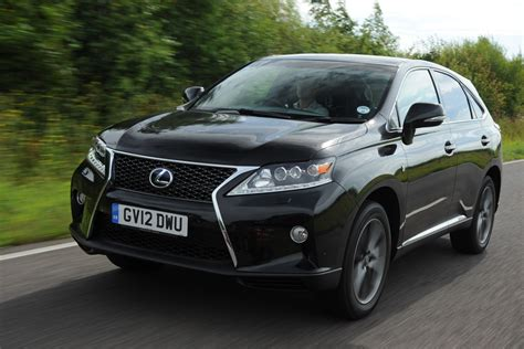 lexus rx suv review   auto express