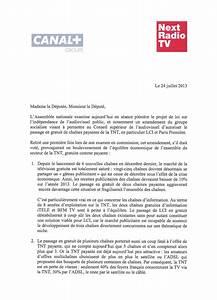 Lettre Demande De Sponsoring : lci sur la tnt gratuite la lettre de canal et next radio tv contre l 39 amendement du ~ Medecine-chirurgie-esthetiques.com Avis de Voitures