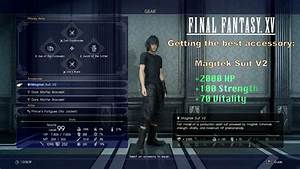 Final Fantasy XV Getting The Best Accessory Magitek