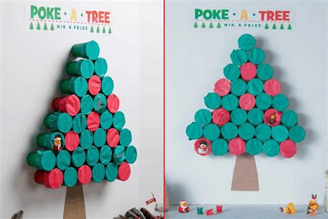 poke  tree christmas party game  brilliantly