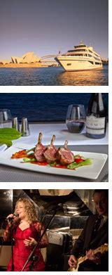 < prev month next month >. Sydney Harbour Captain's Dinner Cruise - Circular Quay, Sydney - Adrenaline