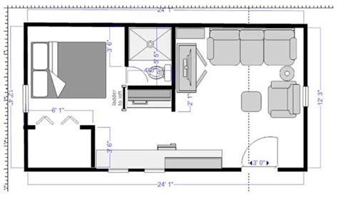 12x24 Shed Floor Plans by 12 X 24 House Plans Studio Design Gallery Best Design