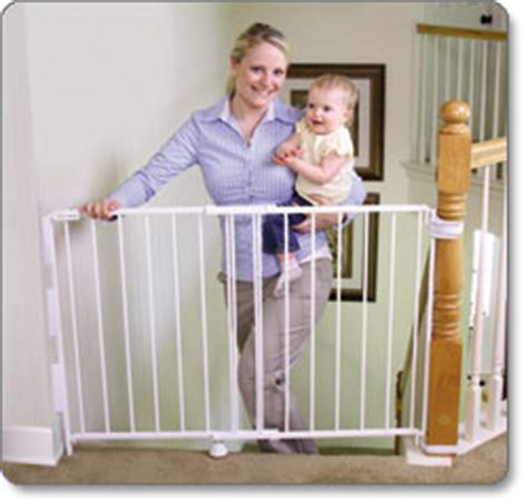 Baby Gate For Stairs With Banister And Wall by Regalo 2 In 1 Stairway And Hallway Baby Gate
