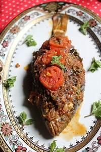 Indian Baked Whole Fish Recipe / Baked Masala Fish Recipe