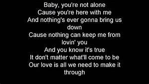 Not Alone By Darren Criss Lyrics Chords