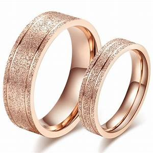 satisfaction wedding rings for women rose gold titanium With stylish wedding rings
