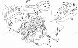 Arctic Cat Atv 2014 Oem Parts Diagram For Engine And