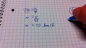 Geschwindigkeit Berechnen Mathe : km h berechnen die formel youtube ~ Themetempest.com Abrechnung
