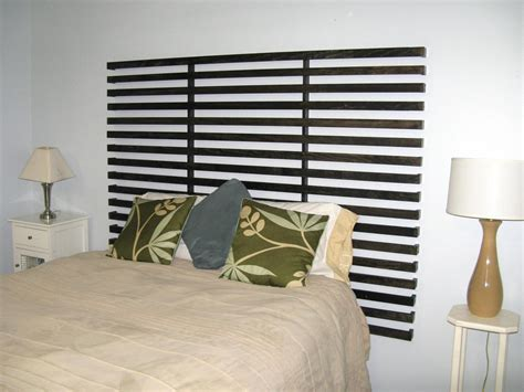 How To Make An Easy Headboard by Weekend Project Build An Easy To Make Slatted Headboard
