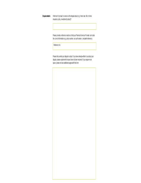 19218 financial ombudsman complaint form financial ombudsman service complaint form melbourne