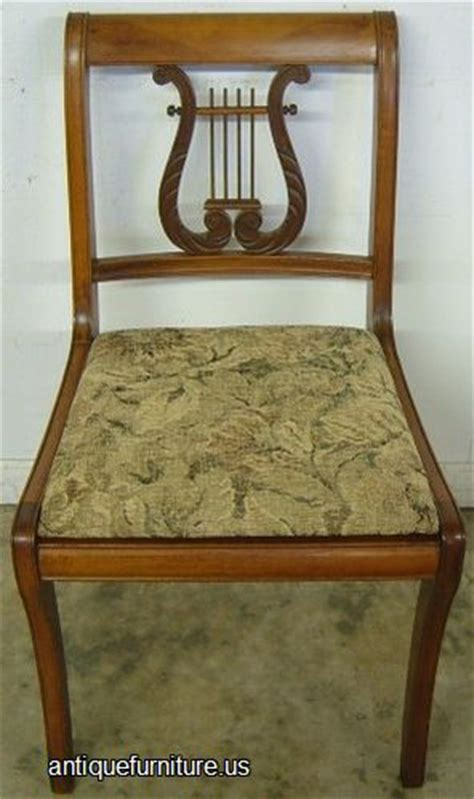 Lyre Back Chairs Antique by Antique Mahogany Lyre Back Dining Chair At Antique