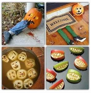 Deco Halloween A Fabriquer : deco d halloween a fabriquer soi meme visuel 1 ~ Melissatoandfro.com Idées de Décoration