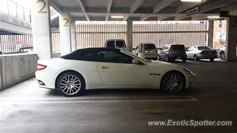 Maserati Grancabrio Spotted In Kansas City, Missouri On 04