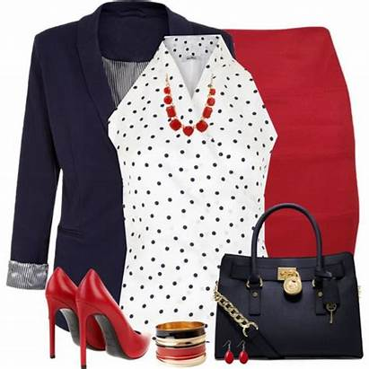 Polyvore Office Spring Business Stylish Woman Outfits
