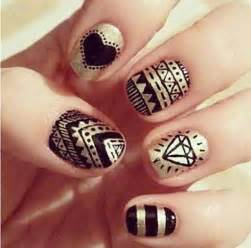 Simple black nail art designs supplies for beginners girlshue