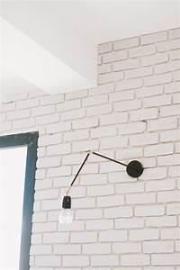 Brique De Parement Blanche : poser des briques de parement en platre tuto ~ Dailycaller-alerts.com Idées de Décoration
