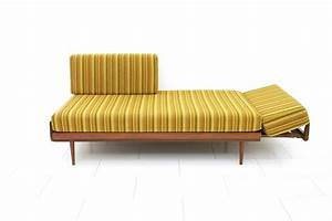 Knoll Antimott Sofa : teak wood daybed and sofa by knoll antimott germany 1950 ~ Sanjose-hotels-ca.com Haus und Dekorationen