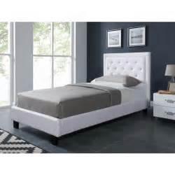 tete de lit capitonnee strass filip lit enfant contemporain en bois et simili blanc