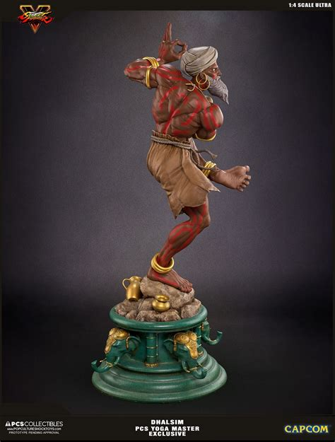 New Photos And Info Street Fighter V Dhalsim Statues By