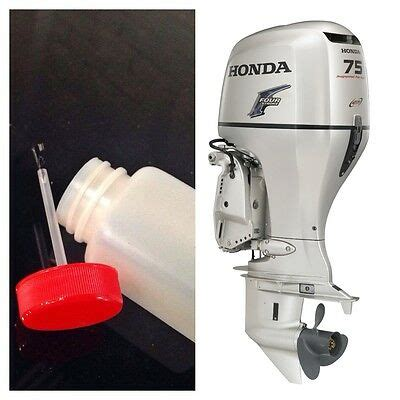 honda outboard boat motor touch up paint 40ml oyster silver 4 stroke ebay