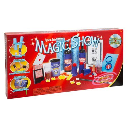 Ideal 100trick Spectacular Magic Show Set Walmartcom