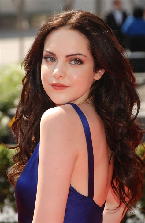 hollywood beauty elizabeth gillies latest pictures