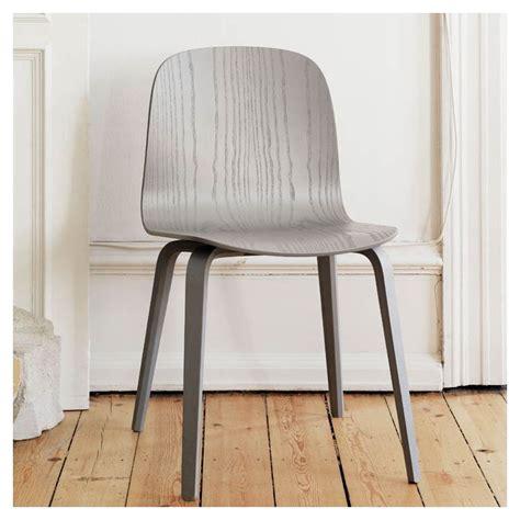 chaise muuto visu chaise design chêne ou frêne laqué muuto
