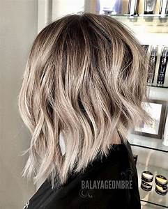 Balayage Ombré Blond : 10 trendy ombre and balayage hairstyles for shoulder ~ Carolinahurricanesstore.com Idées de Décoration