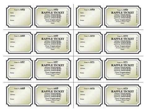 raffle ticket printing template raffle ticket template raffle tickets templates