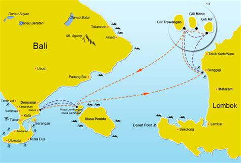 Fast Boat Nusa Penida To Gili by Fast Boat Entre Les Iles Gili Et Nusa Lembongan Lebaliblog