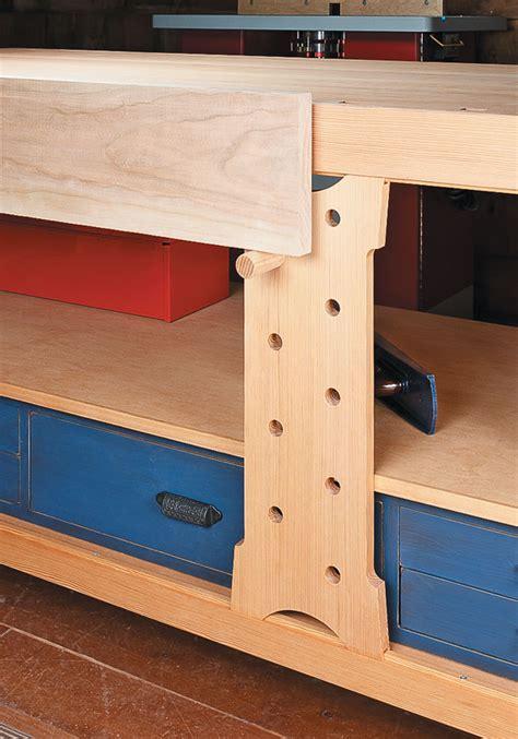 shaker style workbench