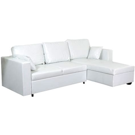 comparateur canapé switsofa canapé convertible 3 places taupe pu blanc