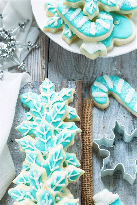 I am a fan of both lemon anything and shortbread cookies. Cut-Out Sugar Cookies that Don't Spread!   Gluten-Free Christmas Cookies