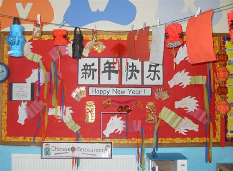 chinese  year classroom display photo sparklebox